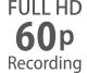 Full HD brzine smanjivanja kadrova od 24p do 60p